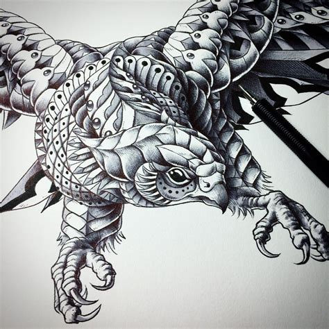 tattoo animal stack intricate drawing designs www imgkid com the image kid