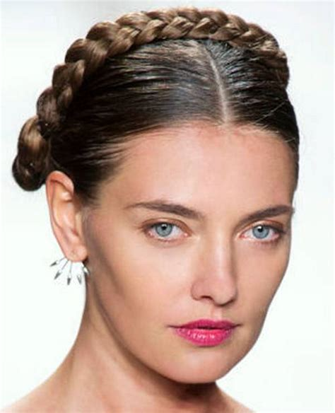 russian hairstyles braids hairstyle with braid plated look like a russian doll