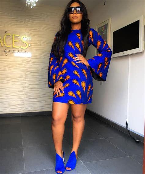 how to nail ankara office dress daily 3 693 likes 57 comments aderonke enoabasi slayonc 201