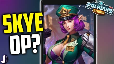 who are the two girls in mobile strike commercial skye op on mobile paladins strike gameplay android