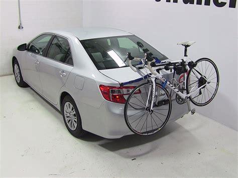 Bike Rack Toyota by 2014 Toyota Camry Trunk Bike Racks Thule