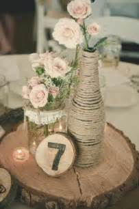 rustic jar centerpieces 50 budget friendly rustic real wedding ideas hative