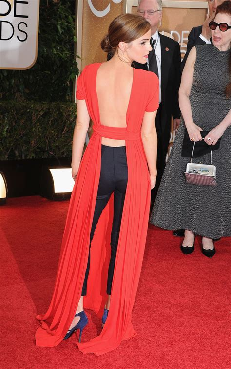emma watson red carpet dresses emma watson dress on golden globes 2014 red carpet
