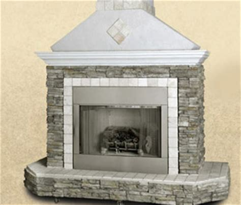 outdoor fireplace and tile design no one beats our