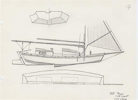 gulf scow schooner 208 usa texas gulf coast scow sloop