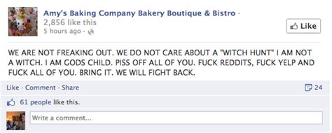 arizona bakery facebook meltdown follows kitchen social media management 3 exles of what not to do