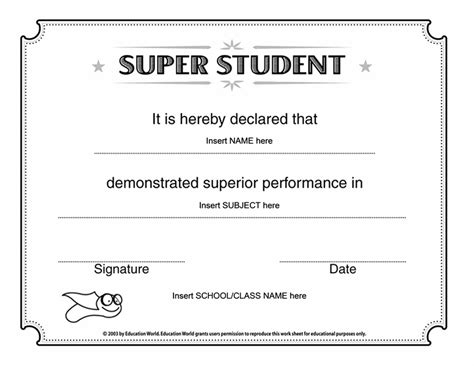 student certificate template templates certificates student certificate academic