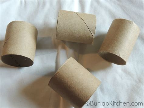 Make Paper Napkin Rings - crafts how tos archives burlapkitchen