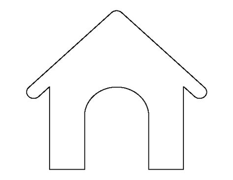 Dog House Outline Www Pixshark Com Images Galleries