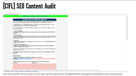 Top Seo Reporting Templates For Your Business Web Analytics Hub Seo Audit Template