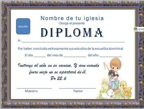 diplomas de honor cristianas diplomas cristianos escuela dominical pinterest