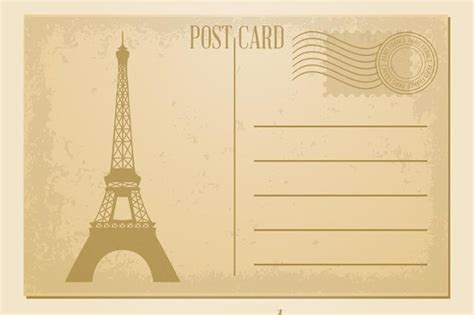 7 Vintage Postcard Templates Free Psd Ai Vector Eps Format Download Free Premium Templates Photo Postcard Template