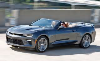 2016 chevrolet camaro ss convertible automatic tested the