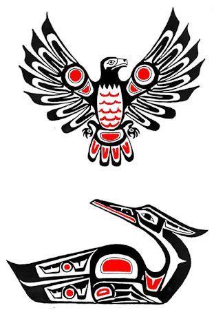 tattoo eagle totem native american hawk symbol native american eagle design