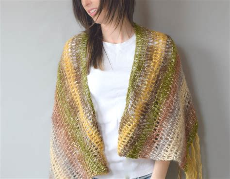 With Shawl by One Skein Crochet Quot Boho Shawl Quot Pattern In A Stitch