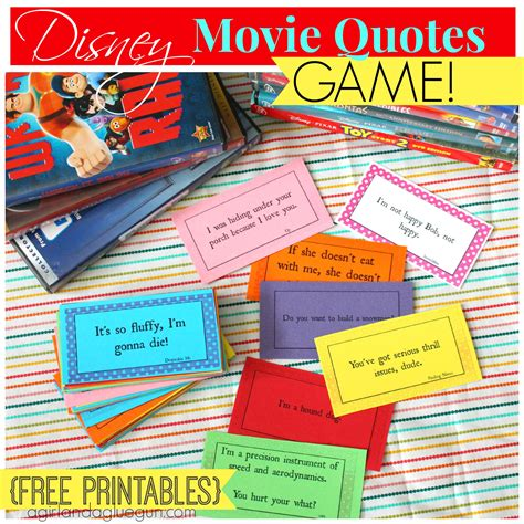 printable movie quotes game printable movie quotes answers quotesgram