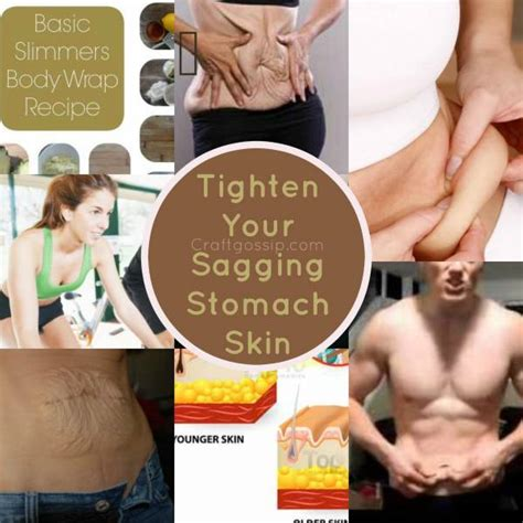 How To Tighten Skin On Stomach After C Section by Diy Recipe How To Tighten Sagging Belly Skin Bath And