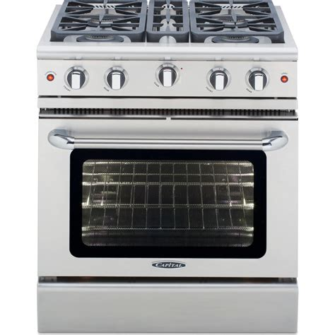 capital kitchen appliances mcr304n capital precision 30 quot pro style gas range