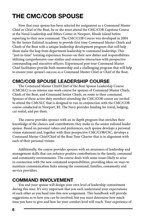 boat financing guidelines guidelines for the spouses of command master chiefs and