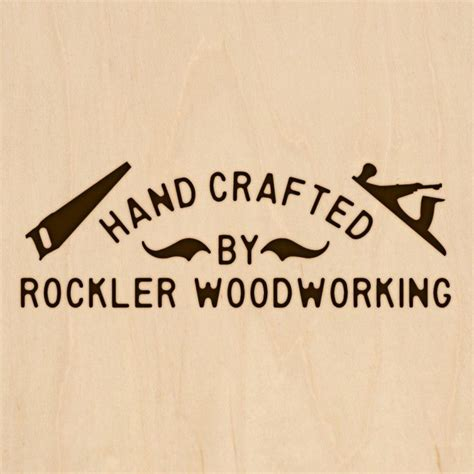 Crafted Or Handcrafted - custom branding iron with crafted tools design