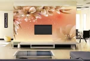 Background Of Living Room Flower Wallpaper Living Room 26 Background Wallpaper