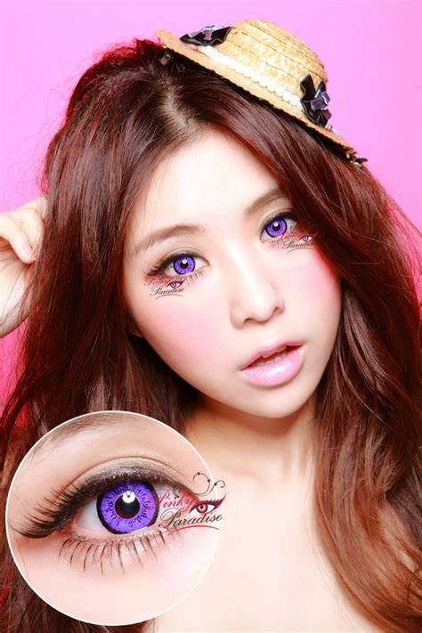 The Dolly Eye Grey eos dolly eye violet colored contacts circle lenses