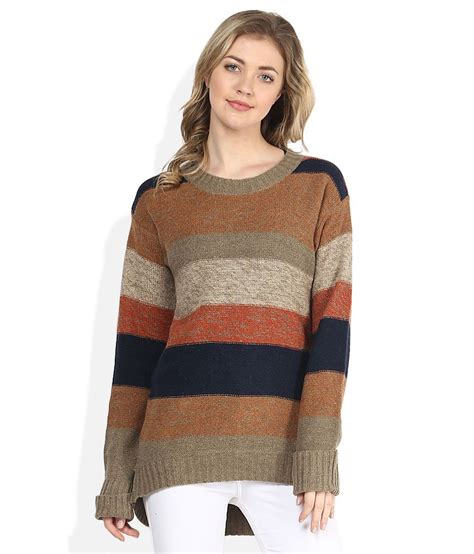 colored sweater buy gipsy multi colored sweater at best prices in