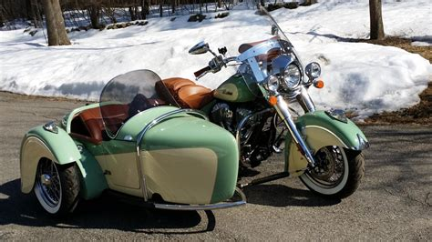 motorcycle sidecar 2015 indian chief vintage motorcycles side car autos post