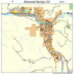 glenwood springs colorado map 0830780