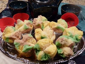 indonesian traditional cakes bolu steamed cake bolu kukus indonesian steamed sponge cake