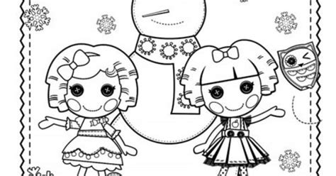 lalaloopsy coloring pages nick jr celebrate the season with this lalaloopsy hoilday coloring