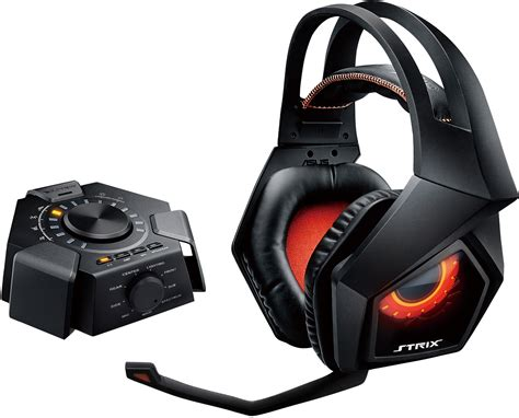 Asus Headset Strix 71 Gaming asus unleashes strix 7 1 surround headset with 10 speaker