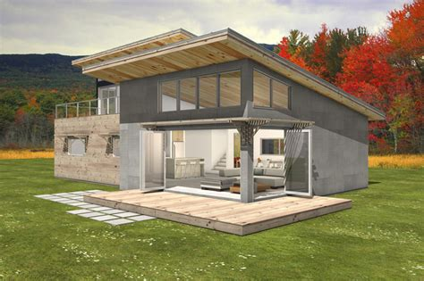 shed roof house modern style house plan 3 beds 2 baths 2115 sq ft plan