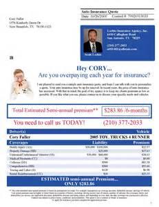 Home Insurance Quote Letter Xpresslists