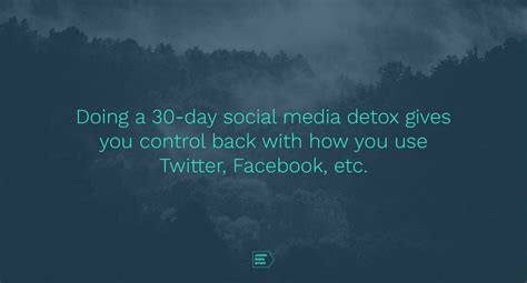 Inspiration Social Media Detox by Could You Get Hacked Infinigeek