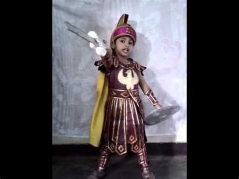 Ashoka Dress janush fancy dress competition pevinsie the king of narnia