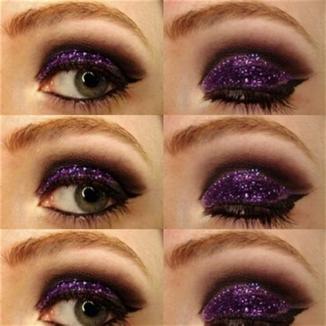 Mba Cosmetics Glitter Tutorial by Smoky Glitter Eye Makeup Tutorial