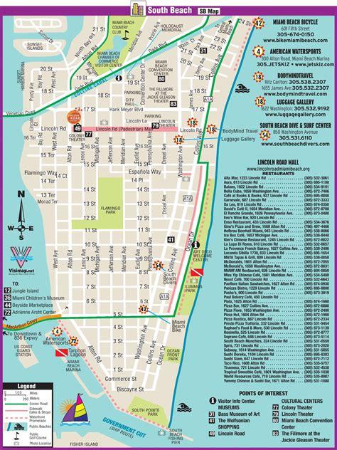 map miami maps update 700890 miami tourist map 17 toprated
