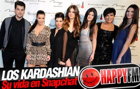 imagenes de la familia kardashian la familia kardashian en snapchat happy fm el mundo