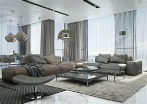 Wohnzimmer Couch Ideen Wohnzimmer Ideen Mit Brauner Couch F 252 R Ein Angesagtes