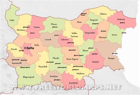 bulgaria maps  freeworldmapsnet