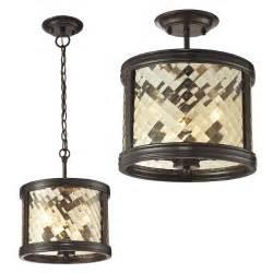 Hudson Lighting Wall Sconce Elk 31451 3 Chandler Oil Rubbed Bronze Home Ceiling