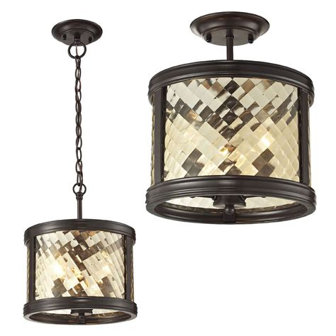 Bronze Ceiling Light by Elk 31451 3 Chandler Rubbed Bronze Home Ceiling