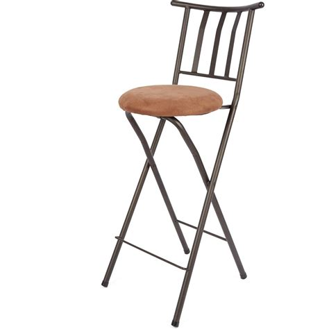 Folding High Stool Chair by New Adjustable Folding Bar Stool Bronze Chair Furniture X