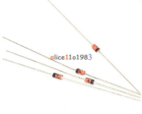 germanium switching diode 10 pcs germanium diode 1n34a do 7 1n34 in34a ebay
