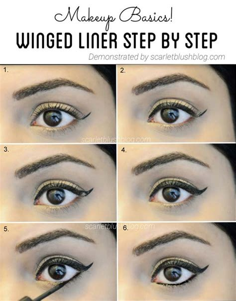 eyeliner tutorial for beginners pencil 37 winged eyeliner tutorials page 3 of 4 the goddess