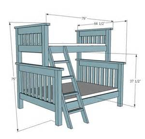 build a bunk bed 25 best ideas about bunk bed plans on loft