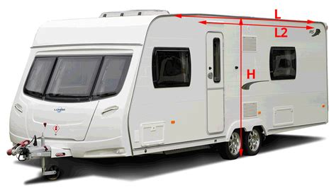 second hand porch awnings for caravans awning sizing how to measure your caravan towsure