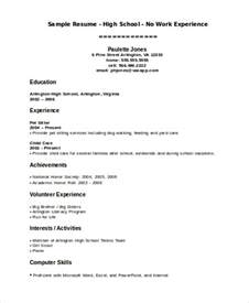 Resume Exles For Teenagers by 15 Resume Templates Free Premium Templates