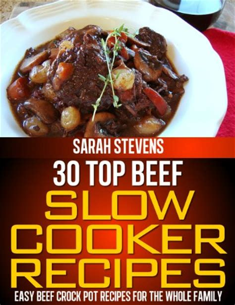cooker cookbook favorite healthy easy recipes for your crock pot books beef stew in the cooker